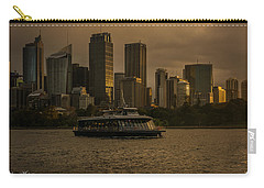 City Skyline  Carry-all Pouch by Andrew Matwijec