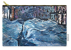 City Snow Storm Carry-all Pouch