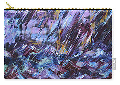City Storm Abstract Carry-all Pouch