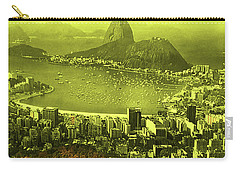 City That Never Sleeps Carry-all Pouch by Dennis Baswell
