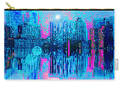City Twilight Carry-all Pouch by Holly Martinson