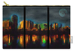 City Under A Blue Moon Carry-all Pouch