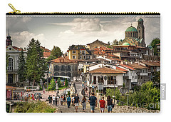 City - Veliko Tarnovo Bulgaria Europe Carry-all Pouch