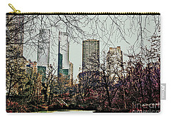 City View From Park Carry-all Pouch by Sandy Moulder