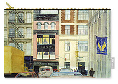 Carry-all Pouch featuring the painting Cityscape by Karen Zuk Rosenblatt