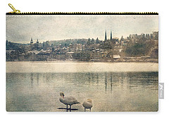Cityscape Of Lucerna Carry-all Pouch