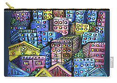 Cityscape Sculpture Carry-all Pouch
