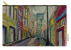 Cityscape Urbanscape Asheville Alley Carry-all Pouch