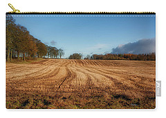 Carry-all Pouch featuring the photograph Clackmannanshire Countryside by Jeremy Lavender Photography