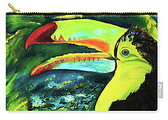 Clara's Toucan Carry-all Pouch
