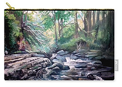 Clare Glens ,co Tipparay Ireland Carry-all Pouch by Paul Weerasekera