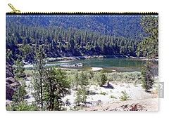 Clark Fork River Missoula Montana Carry-all Pouch