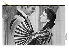 Clark Gable And Vivien Leigh Carry-all Pouch