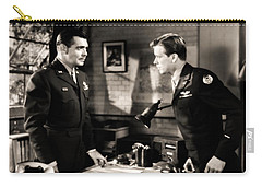 Carry-all Pouch featuring the photograph Clark Gable Appearing In Command Decision by R Muirhead Art