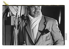 Carry-all Pouch featuring the photograph Clark Gable Hollywood Movie Idol  by R Muirhead Art