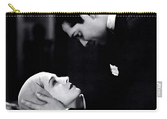 Carry-all Pouch featuring the photograph Clark Gable In A Free Soul by R Muirhead Art