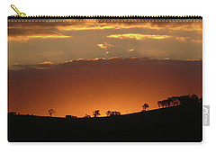 Carry-all Pouch featuring the photograph Clarkes Road II by Evelyn Tambour