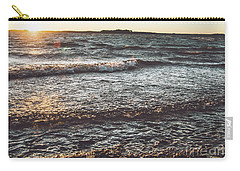 Carry-all Pouch featuring the photograph Clarks Hill Lake by Andrea Anderegg