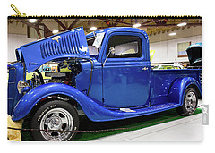 Classic Blue Ford Truck Carry-all Pouch