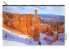 Carry-all Pouch featuring the photograph Classic Bryce by Chad Dutson