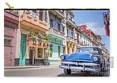 Classic Car In Havana, Cuba Carry-all Pouch