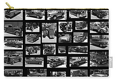 Carry-all Pouch featuring the photograph Classic Cars And Trucks by Angie Tirado