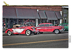 Classic Cars At Tollys Carry-all Pouch