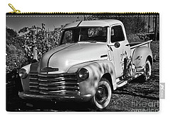 Carry-all Pouch featuring the photograph Classic Chevy Truck by Kirt Tisdale