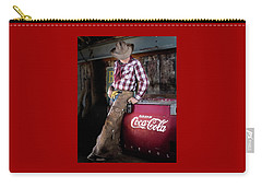 Classic Coca-cola Cowboy Carry-all Pouch
