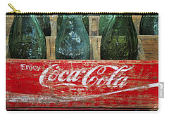 Classic Coke Carry-all Pouch by David Lee Thompson