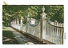Classic Fence Carry-all Pouch by Betsy Zimmerli
