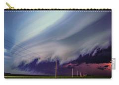 Classic Nebraska Shelf Cloud 028 Carry-all Pouch