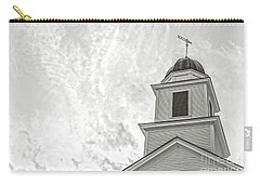 Carry-all Pouch featuring the photograph Classic New England Church Etna New Hampshire by Edward Fielding