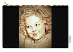 Classic Shirley Temple Carry-all Pouch by Fred Larucci