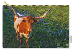 Classic Spring Scene In Texas Carry-all Pouch