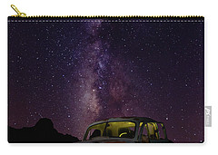 Classic Truck Under The Milky Way Carry-all Pouch