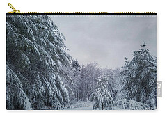 Classic Winter Scene In New England  Carry-all Pouch