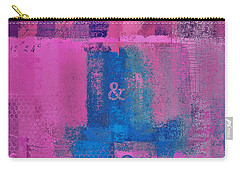 Carry-all Pouch featuring the digital art Classico - S0307d by Variance Collections