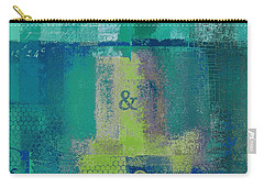 Carry-all Pouch featuring the digital art Classico - S03c04 by Variance Collections