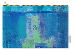 Carry-all Pouch featuring the digital art Classico - S03c06 by Variance Collections