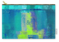 Carry-all Pouch featuring the digital art Classico - S03c26 by Variance Collections