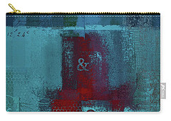 Carry-all Pouch featuring the digital art Classico - S03b by Variance Collections