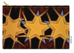 Clawed Stars  Carry-all Pouch by Ron Bissett