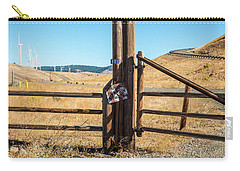 Clean Power And Old Ranch Gates Carry-all Pouch