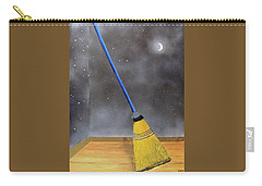 Carry-all Pouch featuring the painting Cleaning Out The Universe by Thomas Blood