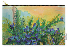 Carry-all Pouch featuring the painting Cleansed by Holly Carmichael