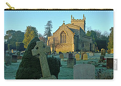 Clear Light In The Graveyard Carry-all Pouch by Anne Kotan