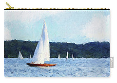 Clear Sailing Carry-all Pouch by Shirley Stalter