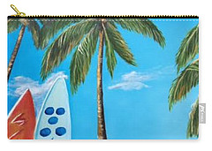 Clear Sky Let's Surf Carry-all Pouch
