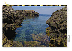 Clear Water Of Mallorca Carry-all Pouch